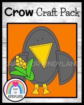 Crow Craft (Thanksgiving, Autumn, Halloween)