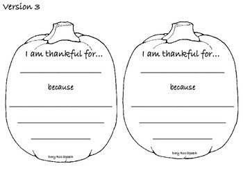 Thanksgiving Craft {Freebie}