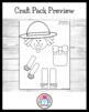 Thanksgiving Craft Pack 3: Football Turkeys, Scarecrow, Crow, Pie Pilgrims