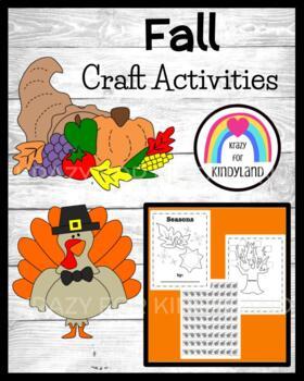 Thanksgiving Craft Pack: Turkey, Pilgrims, Native Americans, Cornucopia