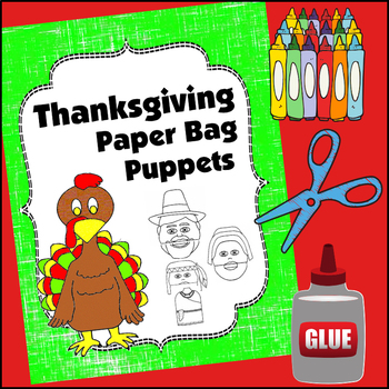 Thanksgiving Craft: Paper Bag Puppets