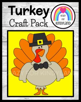 Thanksgiving Craft: Pilgrim Turkey