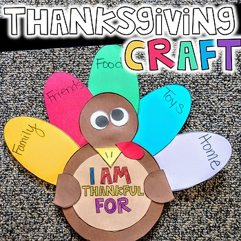 Thanksgiving Craft - Print and Go!