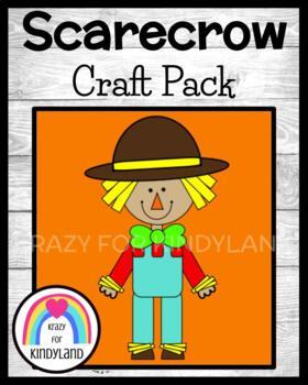 Scarecrow Craft (Thanksgiving, Autumn, Fall, Halloween, Trick-or-Treat)