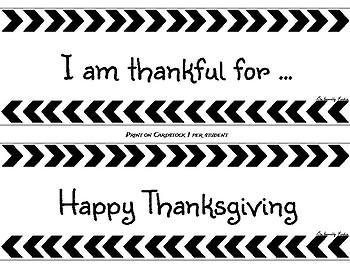 Thanksgiving Craft- Día de Acción de Gracias