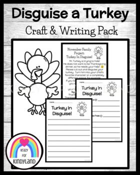 Thanksgiving Craft: Turkey In Disguise FREEBIE!