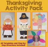 Thanksgiving Craft and Activity Pack