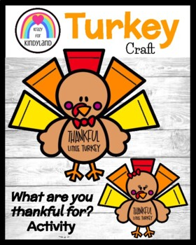Thanksgiving Craft and Writing: Thankful Turkey