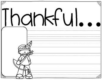 Thanksgiving Craftivities! By The 2 Teaching Divas