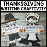 Thanksgiving Craftivity I am thankful for...