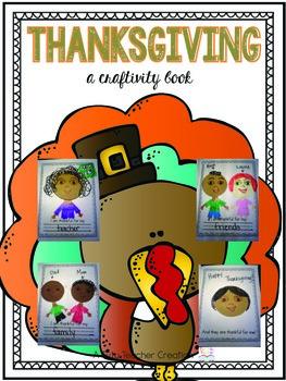 Thanksgiving Craftivity Book