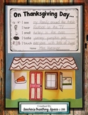Thanksgiving Craftivity --- Exploring Thanksgiving With Our Five Senses