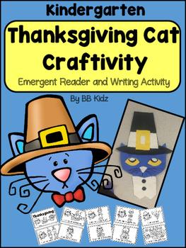 Thanksgiving Craftivity and Emergent Reader / Kindergarten