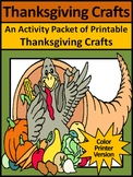 Thanksgiving Art Activities: Thanksgiving Crafts