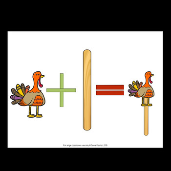 Thanksgiving Craftivities (Stick Puppets)
