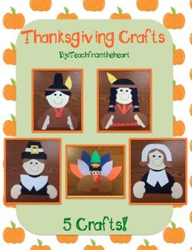 Thanksgiving Crafts (5 Crafts!)