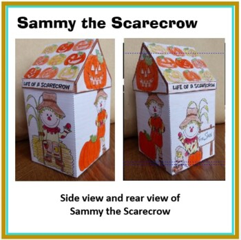 Thanksgiving Crafts - Life of a Scarecrow