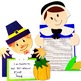 Thanksgiving Crafts: Pilgrim Man; Turkey Glyph; Native American; Pilgrim Woman