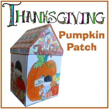 Thanksgiving Crafts - Pumpkin Patch