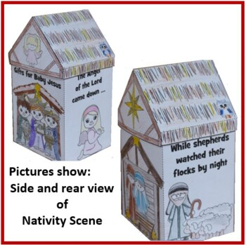 Christmas Crafts - Nativity Scene