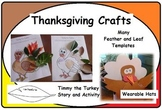 Thanksgiving Crafts and Timmy the Turkey Story