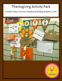 Thanksgiving Crafts - and Writing Activities