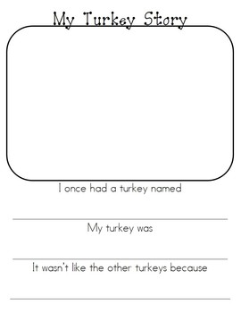 Thanksgiving Creative Writing Activities