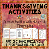 Thanksgiving: Creative Writing, History, and Puzzles
