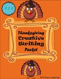 Thanksgiving Creative Writing Packet