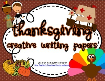 Thanksgiving Creative Writing Papers!