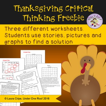 Thanksgiving Critical Thinking Freebie