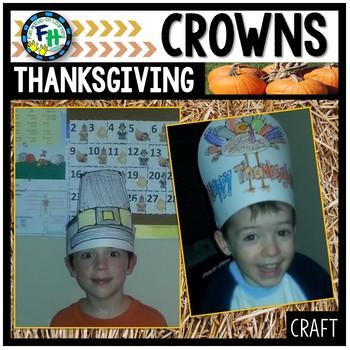 Thanksgiving Crowns Craft