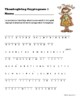 Thanksgiving Cryptograms / Ciphers from The First Thanksgiving