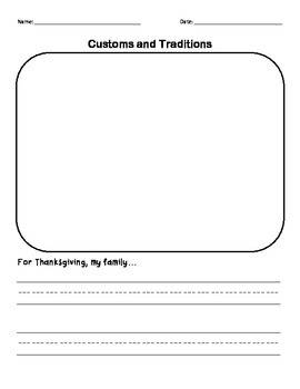 Thanksgiving Customs and Traditions