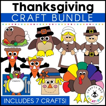 Thanksgiving Cut and Paste Set