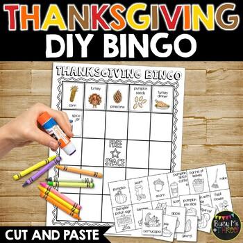 Thanksgiving Bingo DIY {DO IT YOURSELF}