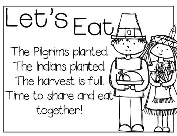 The First Thanksgiving Literacy Unit