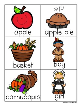 Thanksgiving Day ABC Order Practice