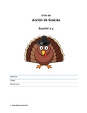 Thanksgiving Day Activities for Spanish Students