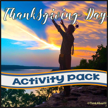 Thanksgiving: Thanksgiving Day Activity Pack