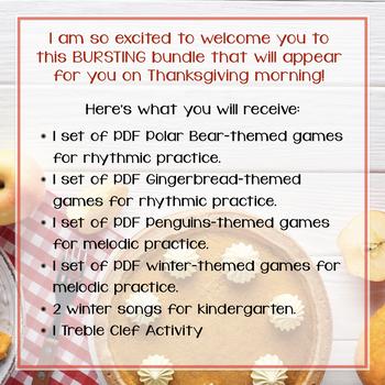 Thanksgiving Day BURSTING Bundle, 2019