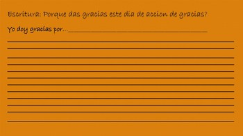 Thanksgiving Day-Bilingual Packet