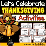 Thanksgiving Activities (How to Hide a Turkey writing, KWL charts, ABC order)