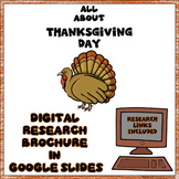 Thanksgiving Day Digital Research Brochure