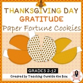 Thanksgiving Day Gratitude Activity