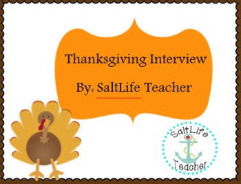 Thanksgiving Day Interview