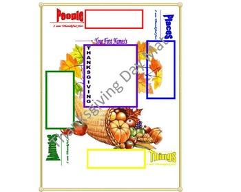 Thanksgiving Day Mat
