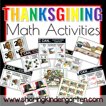 Thanksgiving Day Math Activities