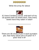 Thanksgiving Day Math