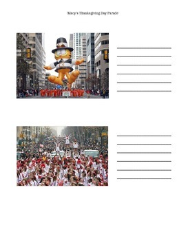 Thanksgiving Day Parade Packet